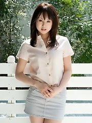 Cutie Junko Hayama Strips For You