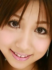 Rika Yuuki Asian teen is a lovely model