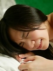 Mio lovely Asian teen model is horny