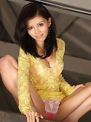 Hotaru Asian teen model is hot
