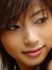 Rin Suzuka hot Asian teen is a sexy model