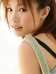 Cute Asian teen is a model with a hot body
