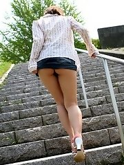 Hitomi is a big boobed model with a hot ass