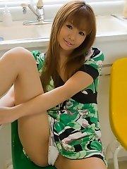 Hinano is a naughty Asian model