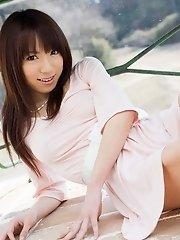 Kanako Tsuchiya Asian teen model is lovely