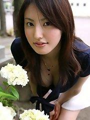 Takako Kitahara lovely Asian model
