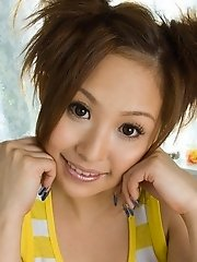 Yui Aoyama big boobed Asian model