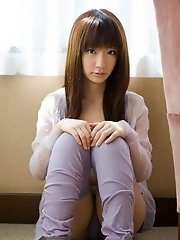 Pretty Asian model is a sexy teen