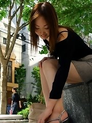Slutty Kumi enjoys being the only girl to see