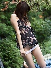 Beautiful Asian teen