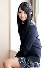 Cute and adorable Japanese av idol Aichi Nozomi shows off her sexy body and have sex in a hotel
