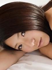 Cute and adorable Japanese av idol An shows her full naked body