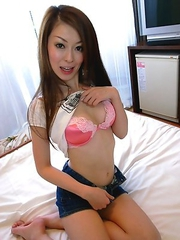Beautiful Japanese Yuu Sakura sucking off and riding a cock before a messy cumshot