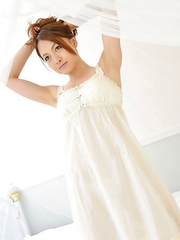 Elegant Rina Itoh is nice girl with treasures for any boyfriend