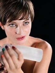 Marie Gives A Cum Covered Handjob