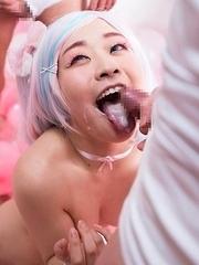 Ai Minano Begs For A Creamy Bukkake